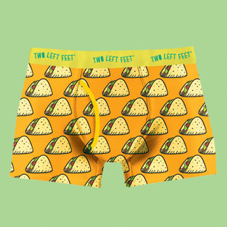 Taco Tuesday Boxer Briefs by Two Left Feet