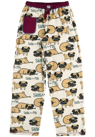 Snug as a Pug Pajama Pants by Lazy One