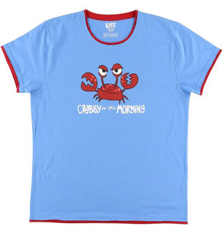 Crabby in the Morning T-Shirt by Lazy One
