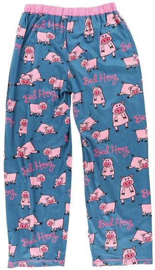 Bed Hog Pig pajama pants by Lazy One