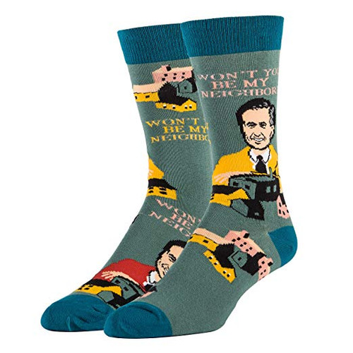 Won't You be My Neighbor? Mr. Rogers socks by Oooh Yeah!