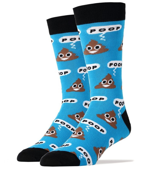 Poop! socks by Oooh Yeah! Unisex for men and women