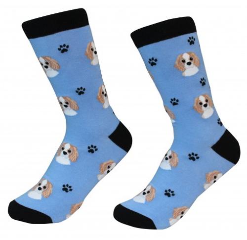 Cavalier King Charles Socks by Sock Daddy