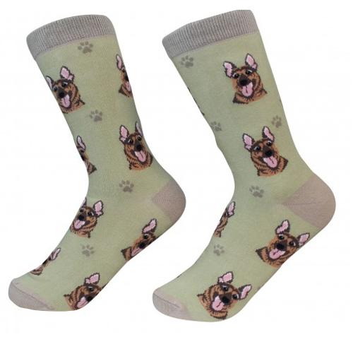 German Shepherd Socks by Sock Daddy