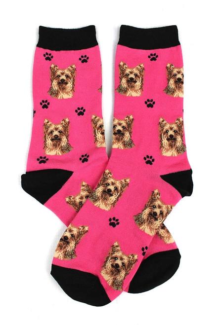 Yorkshire Terrier Yorkie Socks by Sock Daddy