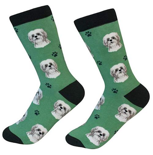 Shih Tzu Socks by Sock Daddy