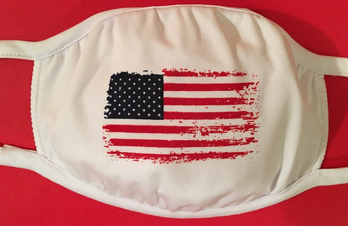 American Flag cotton face mask by Soft as a Grape