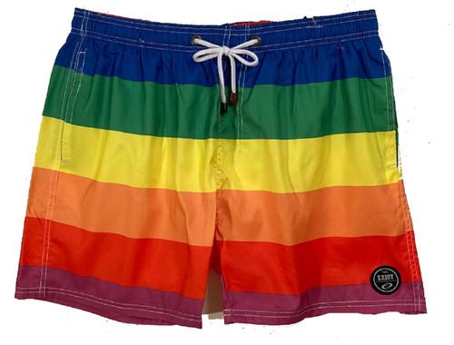 Rainbow Swim Trunks