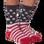 American Flag Socks for Men by K. Bell