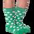 Shamrock socks for men by K. Bell