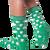 Shamrock socks for men by K.Bell