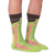 Leg Eater Trout Socks for Men by K. Bell