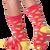 Taco socks for men by K.Bell