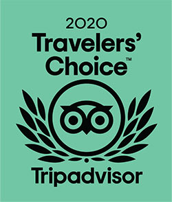 Trip Advisor Travelers' Choice Winner