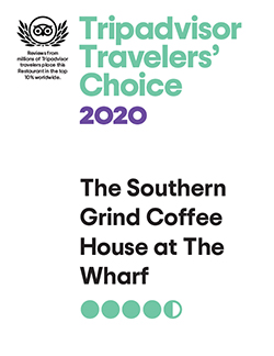 The Southern Grind Coffee House on Trip Advisor - Opens in a new tab