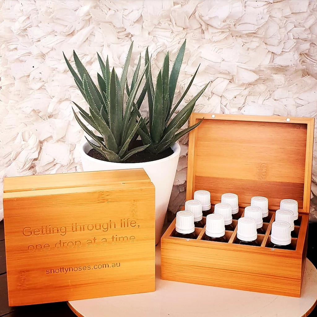 Bamboo Essential Oil Storage Box