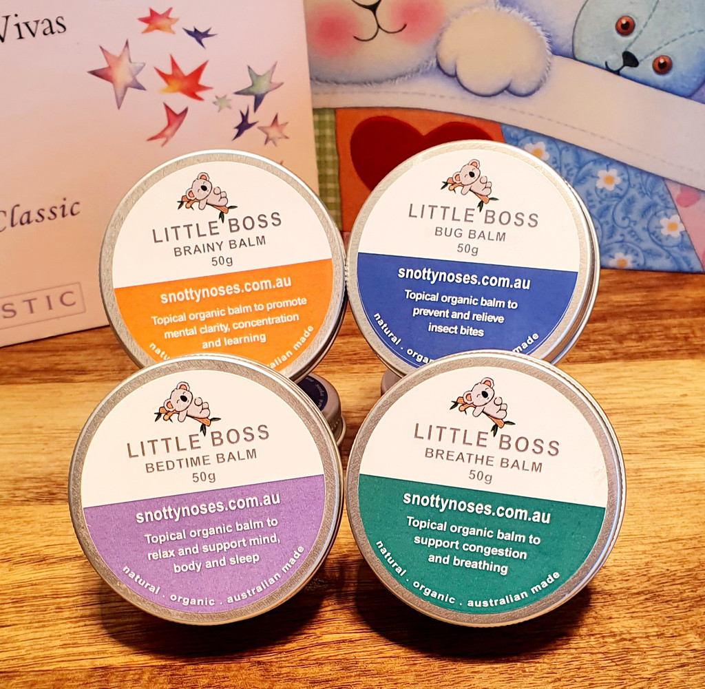 Little Boss Organic Balm Quad Pack