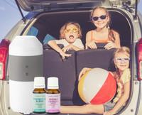 Travel Vaporiser + 2 Essential Oils