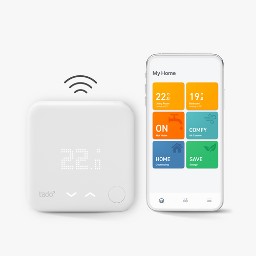 Tado starter kit product with app