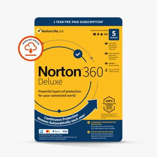 Norton Deluxe 5 device package
