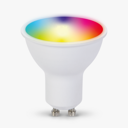 TCP Smart Wi-Fi Led Lightbulb GU10 Colour Changing And White 40W Equivalent