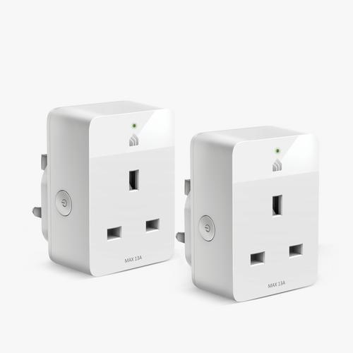 Smart Wi-Fi Plug Slim two-pack product image