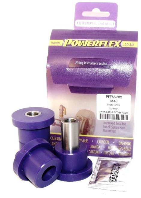 PFF66-422 Powerflex Front Wishbone Upper Outer Bush Fit SAAB