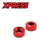 Execute XQ1S Aluminium Lower Shock Cap (2pcs)