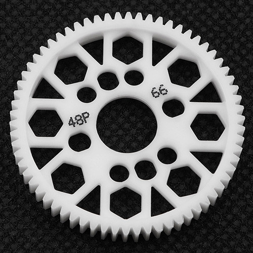 Yeah Racing 66T Delrin Spur Gear 48 DP for 1/10th Touring & Drift. Xpress, Xray