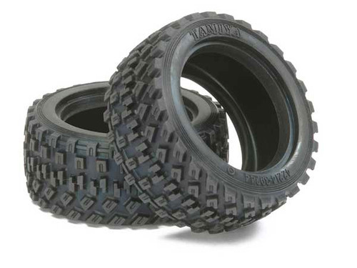Tamiya 60D Rally Block Tyre (2pcs)
