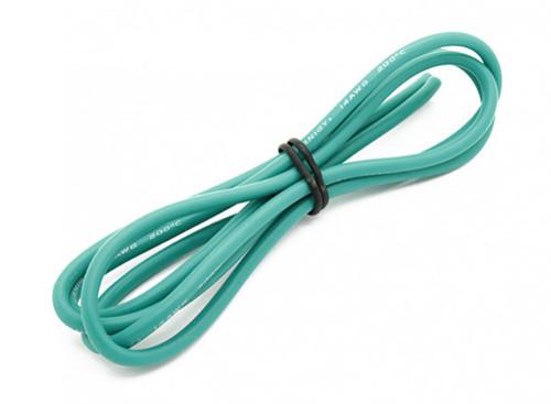 SpeedRC 14AWG Wire 1M Green