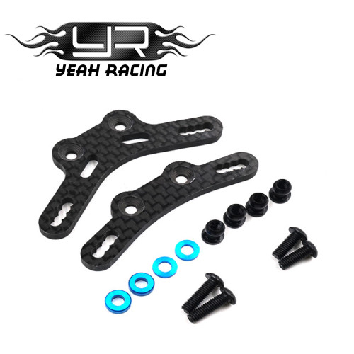Yeah Racing Carbon Rear Shock Tower for M07 TRF Long Dampers