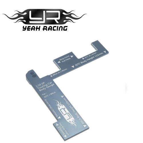 Yeah Racing 1/10 EP Touring Car Body Gauge For ISTC BRCA GunMetal