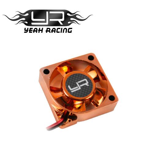 Yeah Racing Tornado High Speed Cooling Fan for Motor Heat Sink (30x30x10mm) Orange