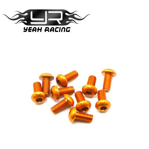 Yeah Racing Titanium 3x6mm Flat Head machine Screw