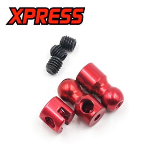 Xpress Execute XQ1S Anti-Roll Bar Bushing Set Red