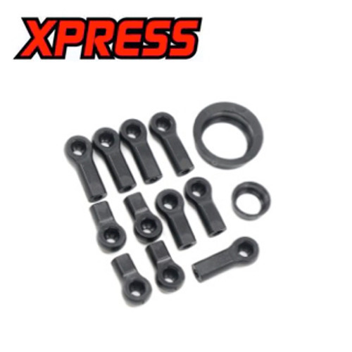 Xpress 4.8mm Ball End Set & Ball Bearing Hub