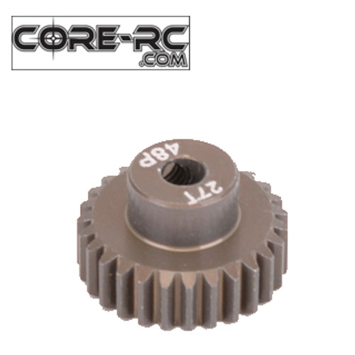 CORE-RC 27T 48DP Pinion Gear (7075 Hard)