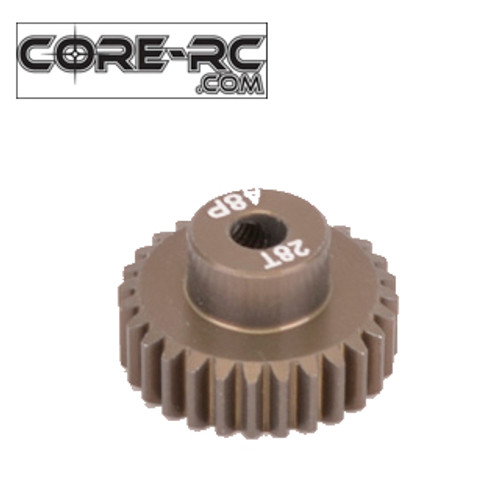 CORE-RC 28T 48DP Pinion Gear (7075 Hard)