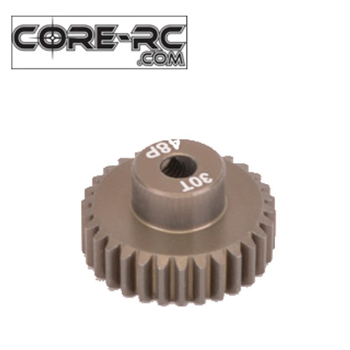 CORE-RC 30T 48DP Pinion Gear (7075 Hard)