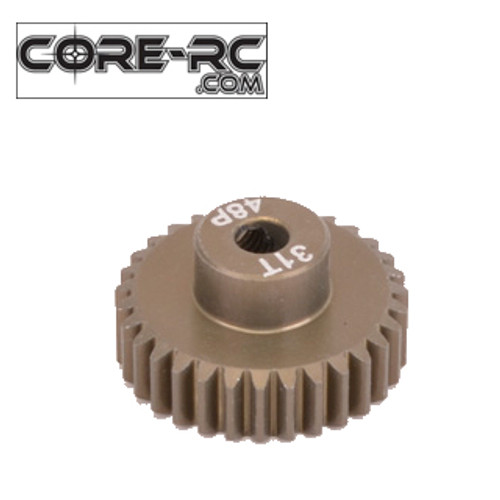 CORE-RC 31T 48DP Pinion Gear (7075 Hard)