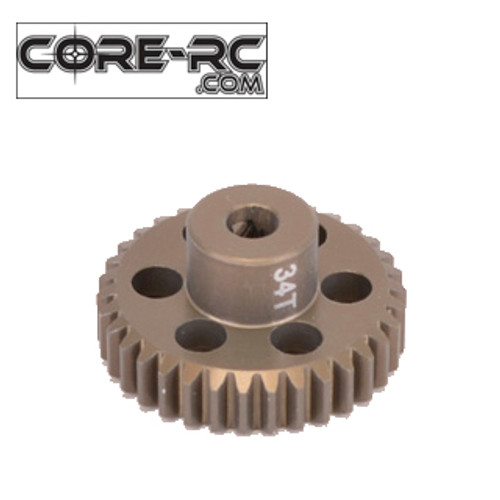 CORE-RC 34T 48DP Pinion Gear (7075 Hard)