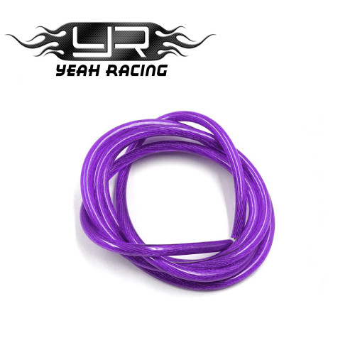 Yeah Racing 12AWG Transparent Wire 1M Purple
