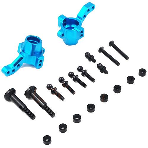 Yeah Racing Aluminium Front Knuckle for TATT-S03 (Tamiya TT02 RWD) Blue