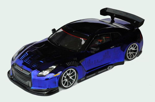 COLT NISSAN GTR 190mm Clear Body Set For 1/10 RC Touring  & Drift