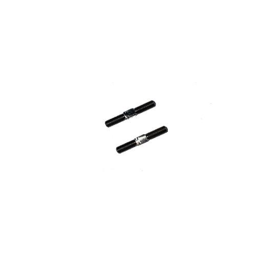 3Racing 3mm Titanium Turnbuckle - 18mm (2 Pcs)