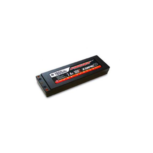 FANTOM 100C-160C, 7800mAh, 7.4v, 2-cell, 4mm Bullet - PRO RACING SERIES LiPo Stick Pack