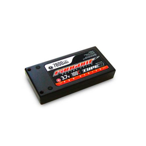 Fantom 1S 7800mAh 3.7V LiPo Pro Race Spec