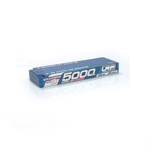 LRP LiPo 5000mAh-HV Hyper LCG Mod 7.6V 2S Stick