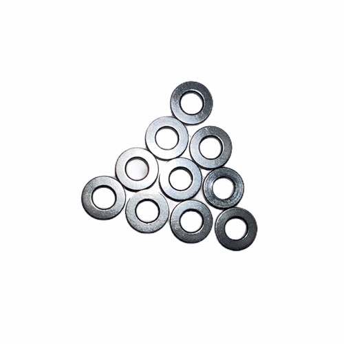 3Racing Aluminium M3 Flat Washer 0.5mm (10pcs) Titanium